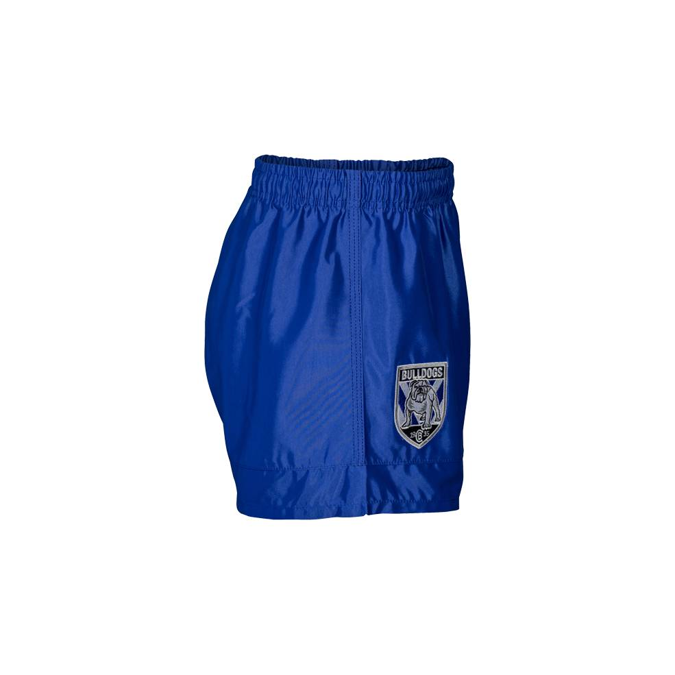 BULLDOGS HOME NRL YOUTH SUPPORTER SHORTS1
