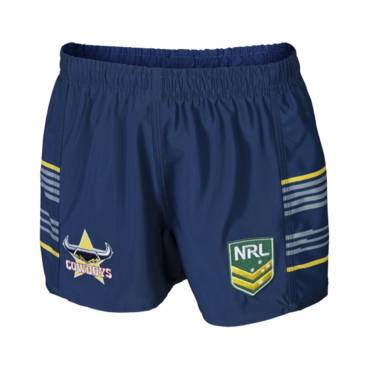 COWBOYS HOME NRL YOUTH SUPPORTER SHORTS