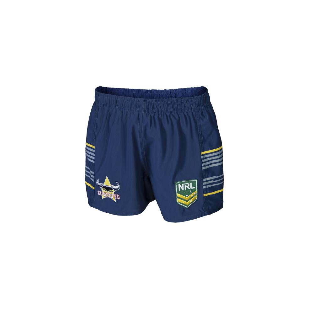 COWBOYS HOME NRL YOUTH SUPPORTER SHORTS0