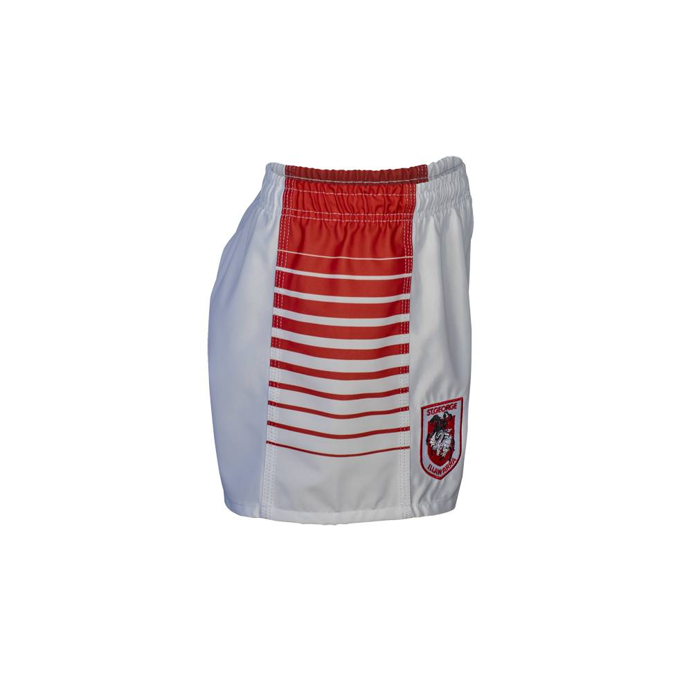 DRAGONS HOME NRL YOUTH SUPPORTER SHORTS1
