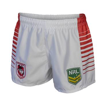 DRAGONS HOME NRL YOUTH SUPPORTER SHORTS
