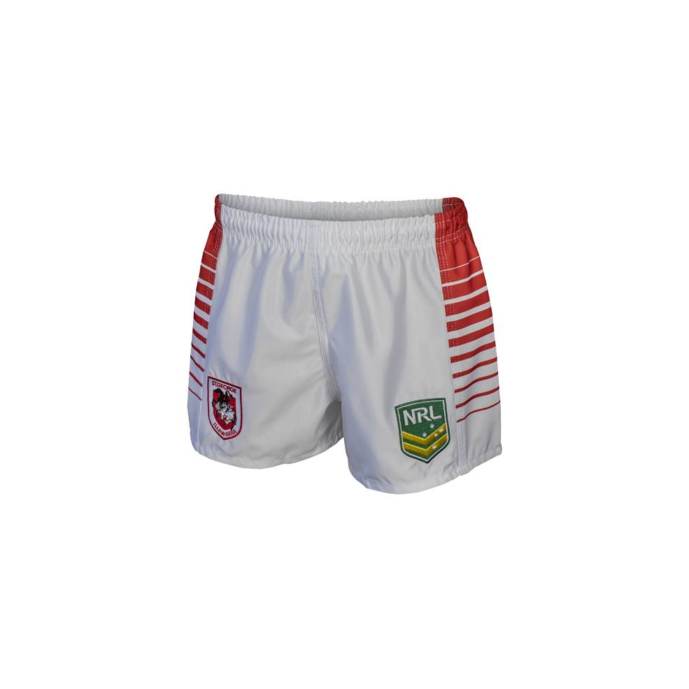 DRAGONS HOME NRL YOUTH SUPPORTER SHORTS0