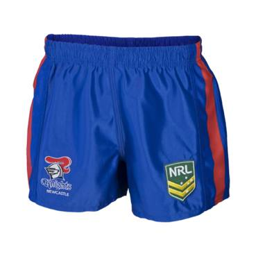 KNIGHTS HOME NRL YOUTH SUPPORTER SHORTS