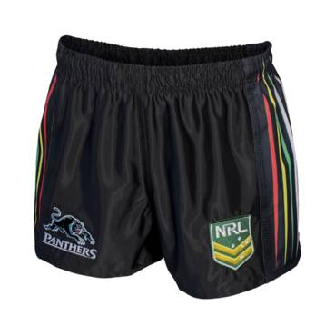 PANTHERS HOME NRL YOUTH SUPPORTER SHORTS