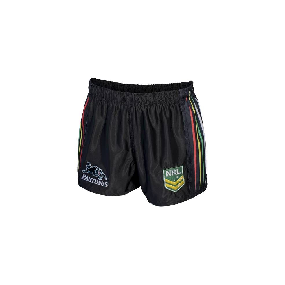 PANTHERS HOME NRL YOUTH SUPPORTER SHORTS0