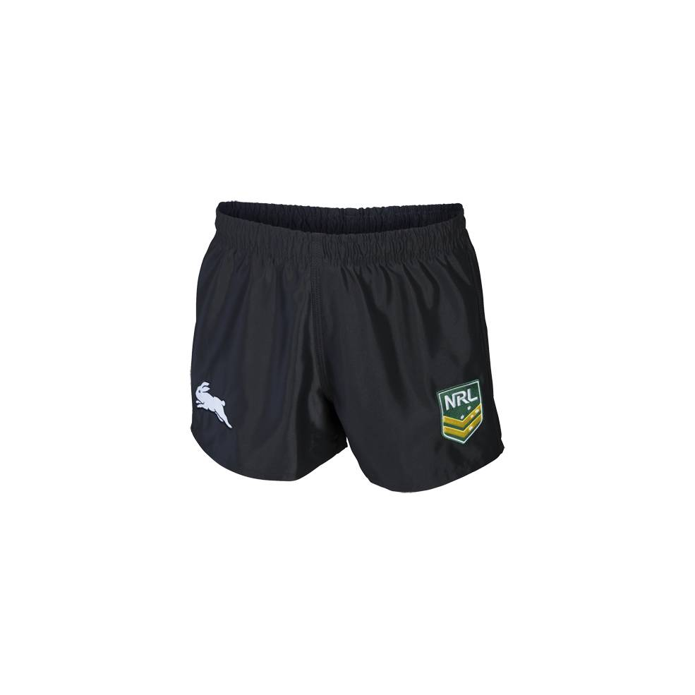 RABBITOHS HOME NRL YOUTH SUPPORTER SHORTS0