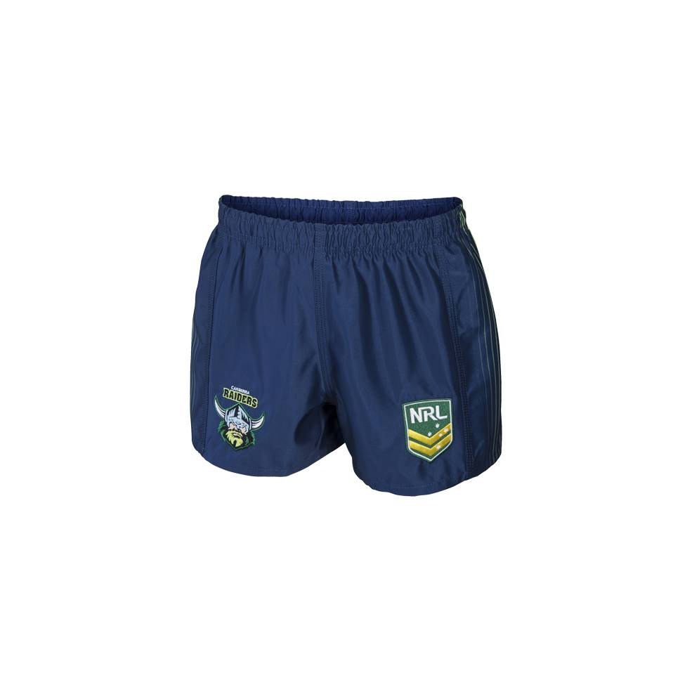 RAIDERS AWAY NRL YOUTH SUPPORTER SHORTS0