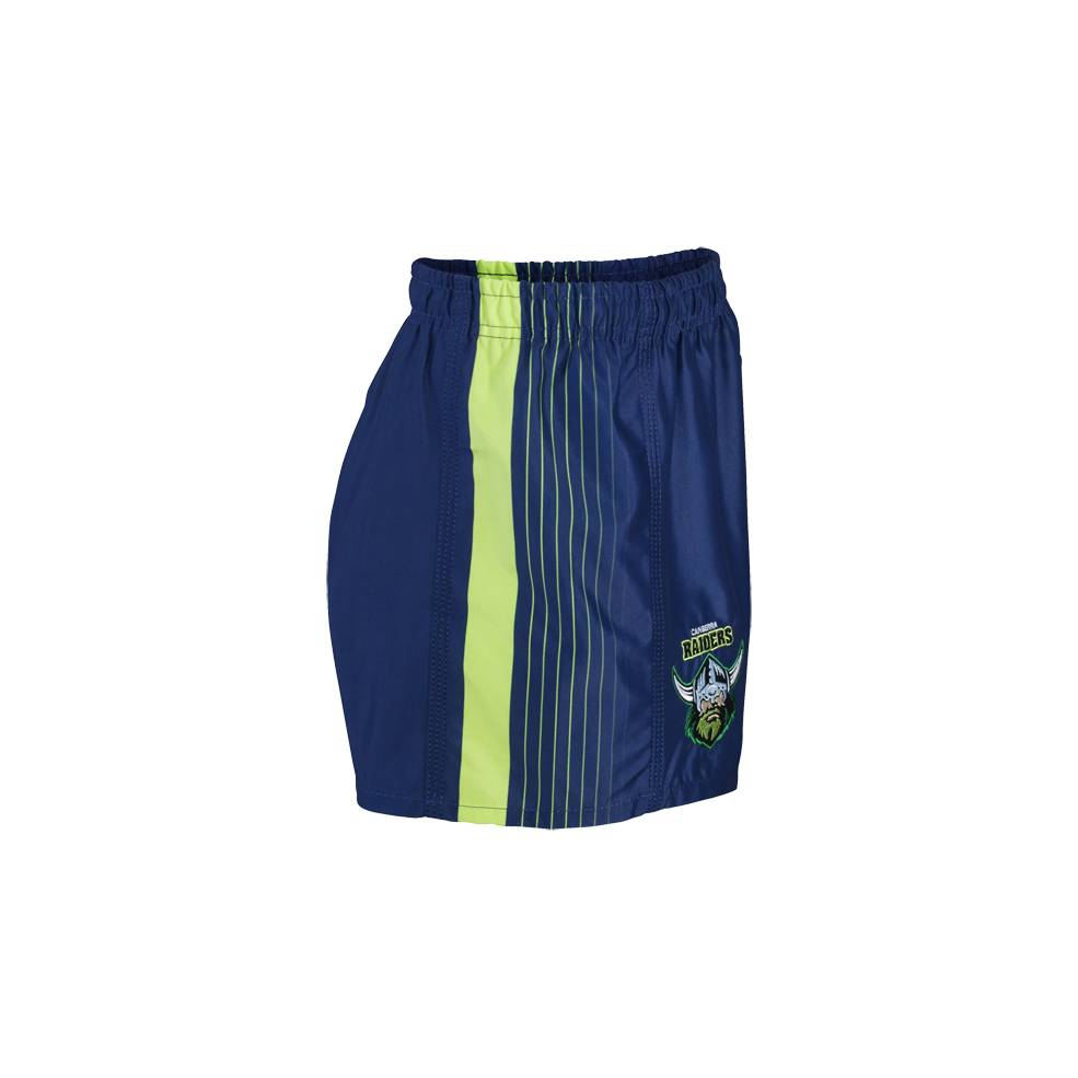 RAIDERS AWAY NRL YOUTH SUPPORTER SHORTS1