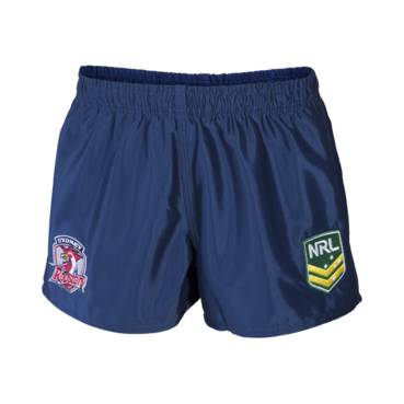 ROOSTERS AWAY NRL YOUTH SUPPORTER SHORTS