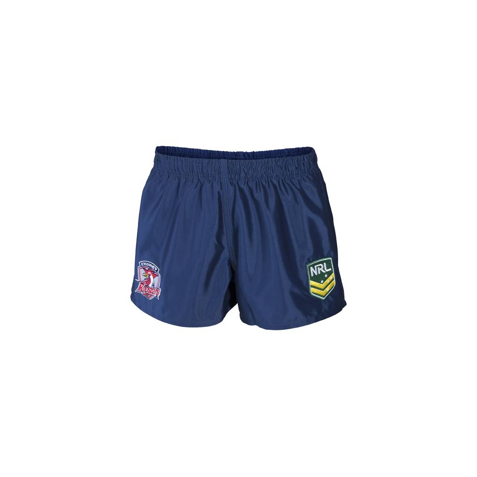 ROOSTERS AWAY NRL YOUTH SUPPORTER SHORTS0