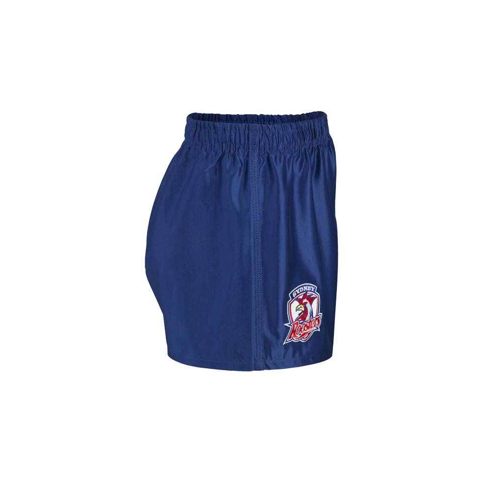 ROOSTERS AWAY NRL YOUTH SUPPORTER SHORTS1