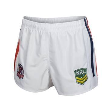 ROOSTERS HOME NRL YOUTH SUPPORTER SHORTS