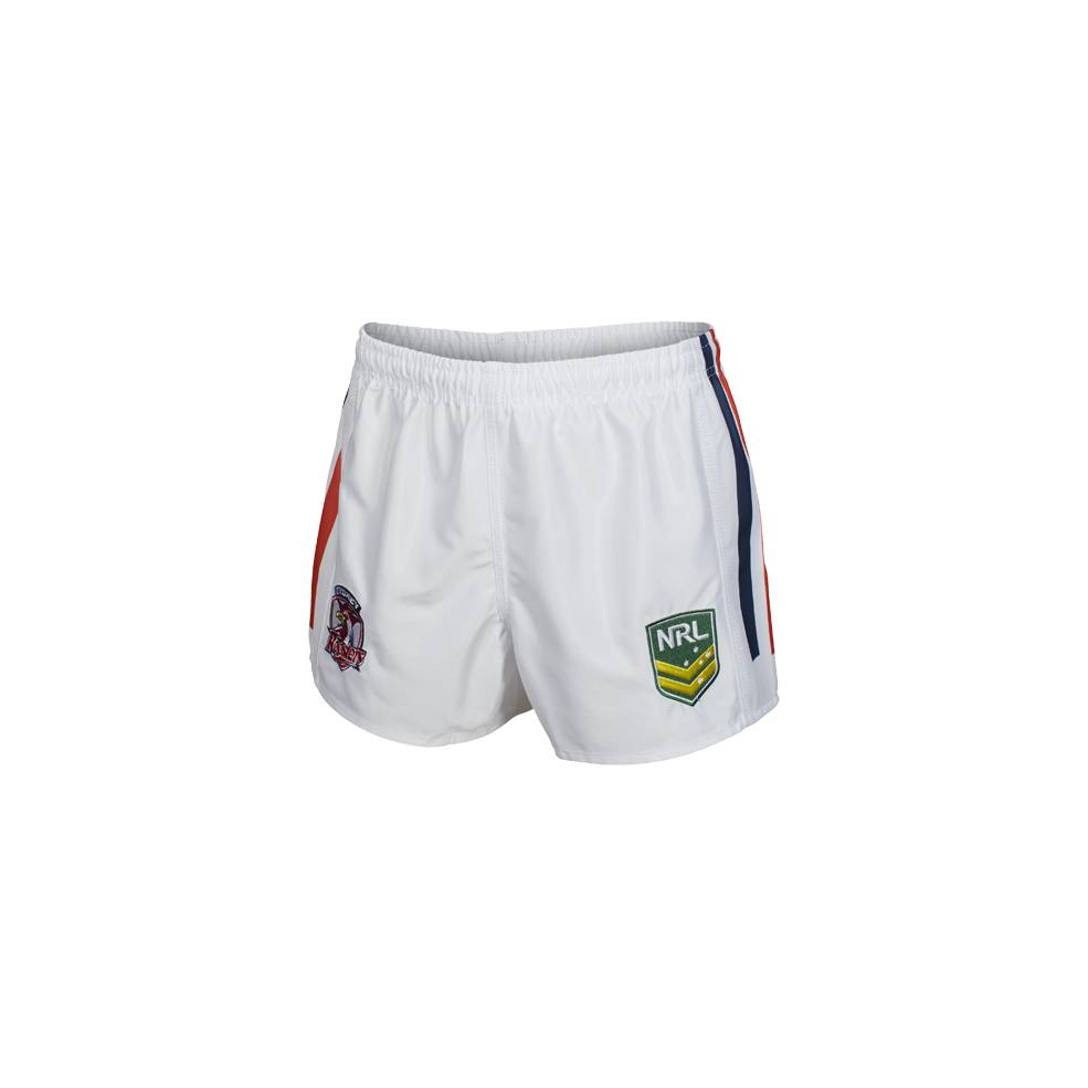 ROOSTERS HOME NRL YOUTH SUPPORTER SHORTS0