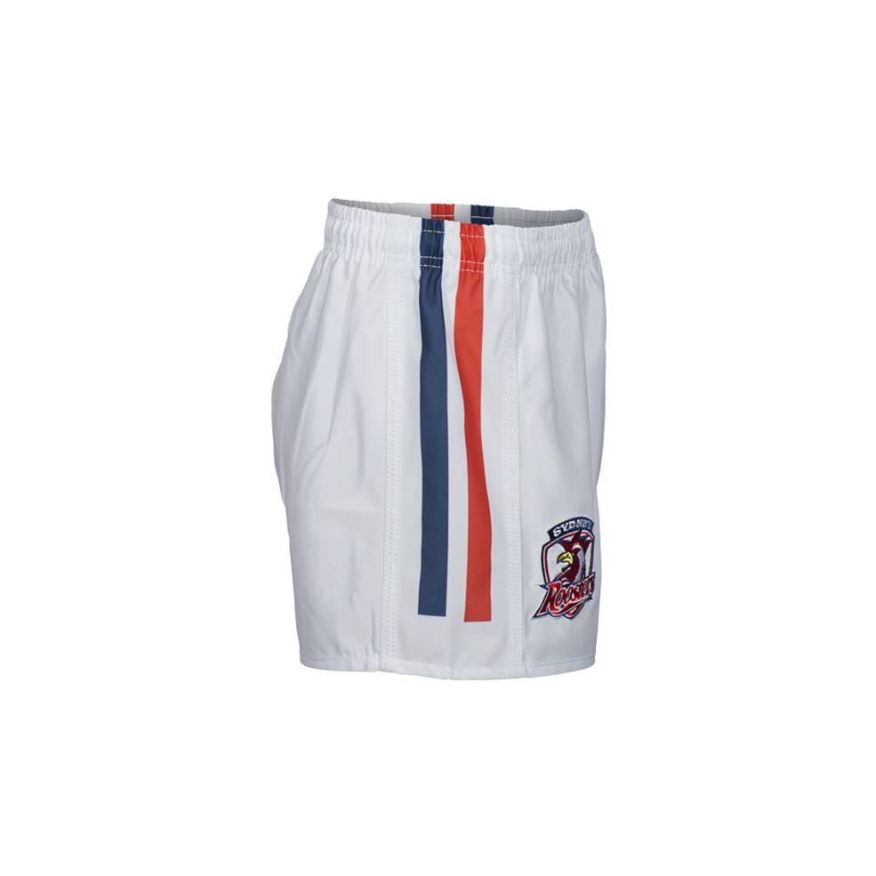 ROOSTERS HOME NRL YOUTH SUPPORTER SHORTS1