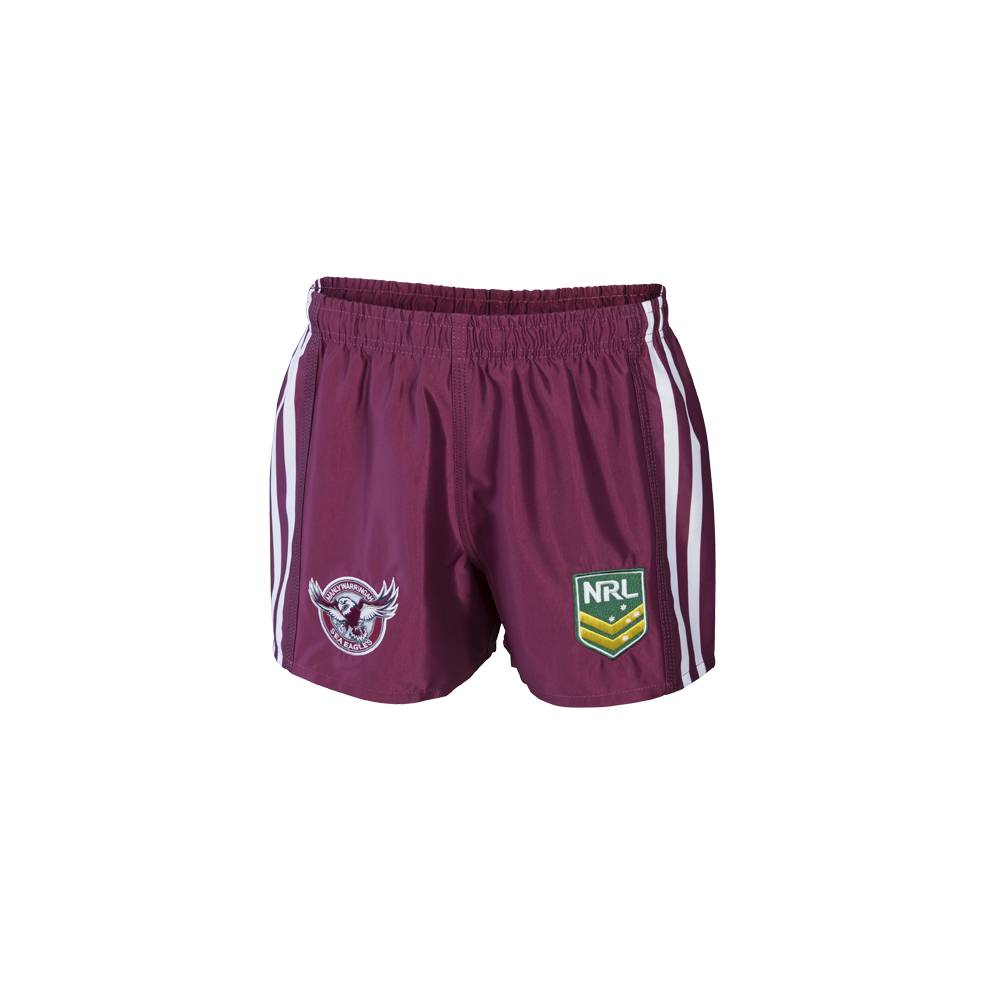 SEA EAGLES AWAY NRL YOUTH SUPPORTER SHORTS0