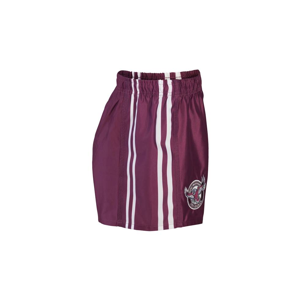 SEA EAGLES AWAY NRL YOUTH SUPPORTER SHORTS1