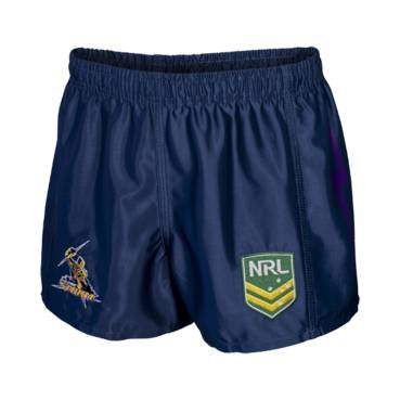 STORM HOME NRL YOUTH SUPPORTER SHORTS