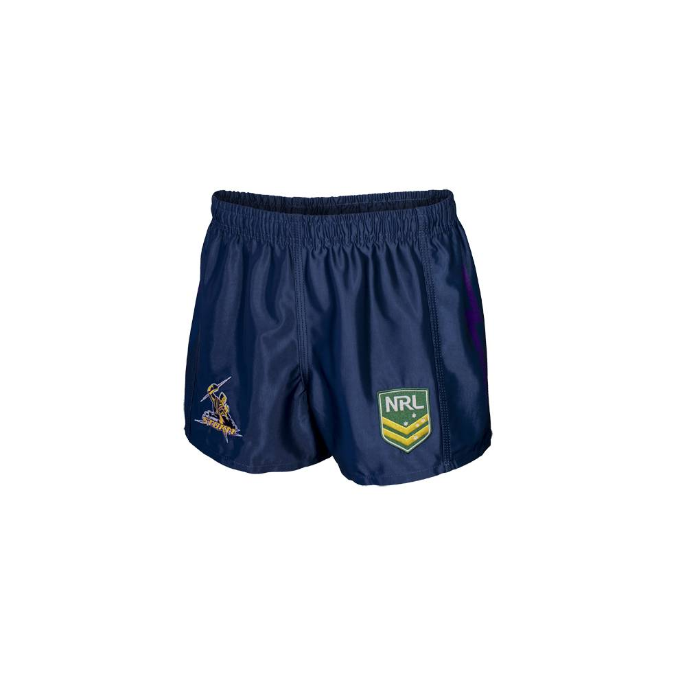STORM HOME NRL YOUTH SUPPORTER SHORTS0