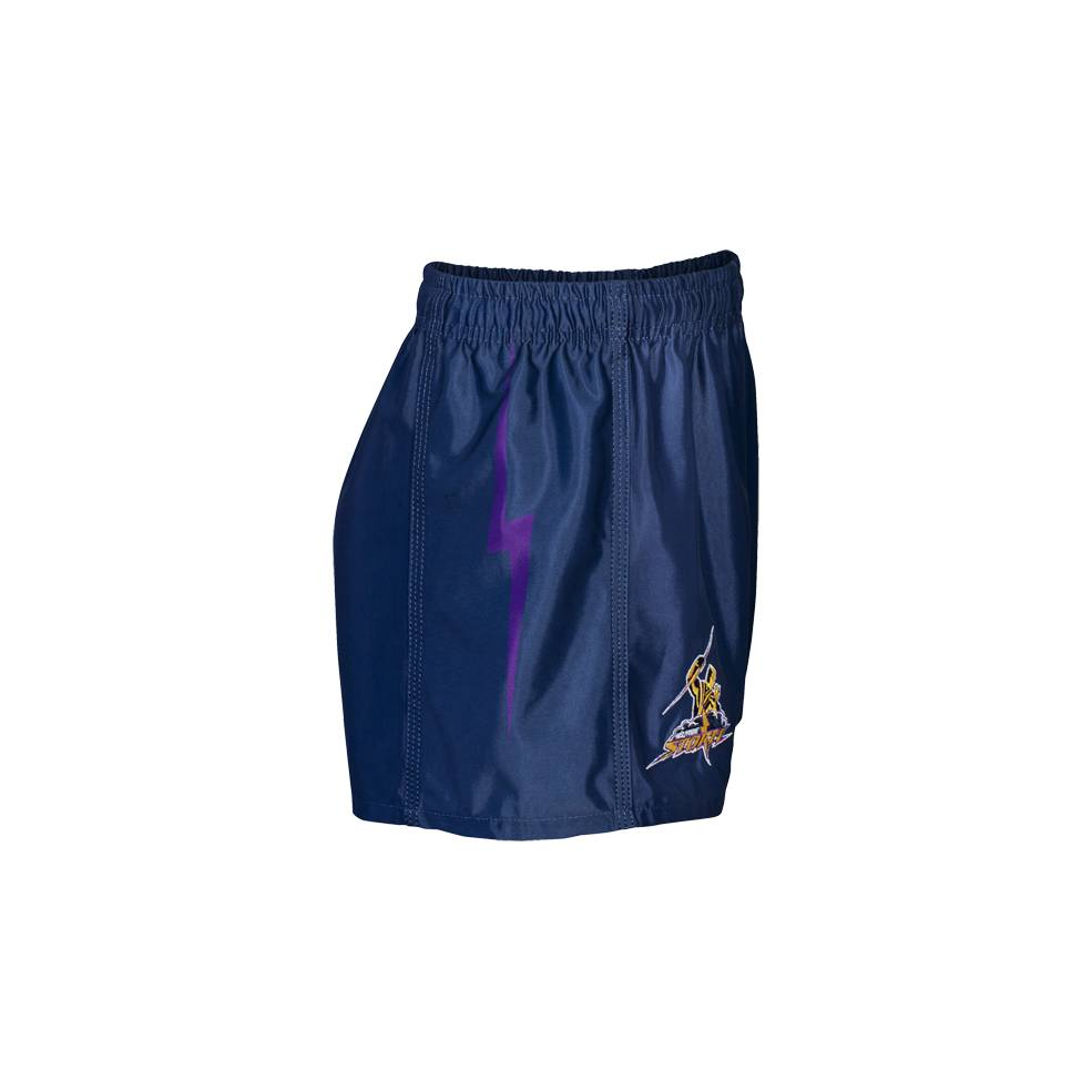 STORM HOME NRL YOUTH SUPPORTER SHORTS1