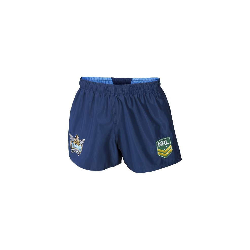 TITANS AWAY NRL YOUTH SUPPORTER SHORTS0