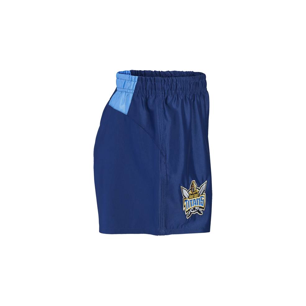 TITANS AWAY NRL YOUTH SUPPORTER SHORTS1