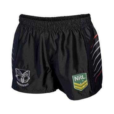 WARRIORS HOME NRL YOUTH SUPPORTER SHORTS