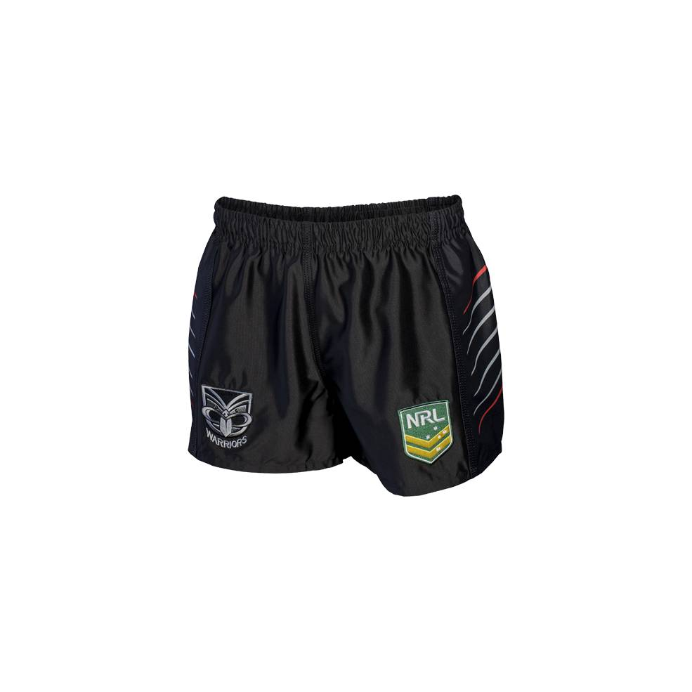 WARRIORS HOME NRL YOUTH SUPPORTER SHORTS0