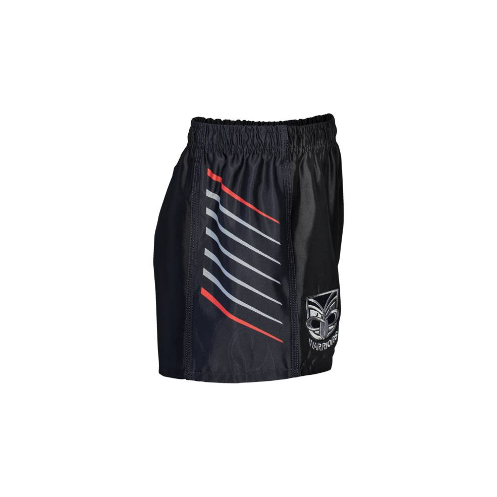 WARRIORS HOME NRL YOUTH SUPPORTER SHORTS1
