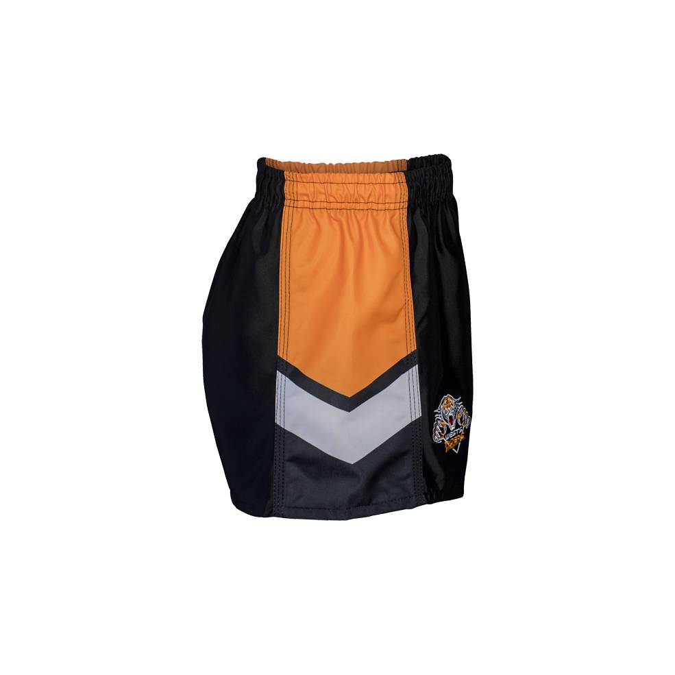 WESTS TIGERS HOME NRL YOUTH SUPPORTER SHORTS1