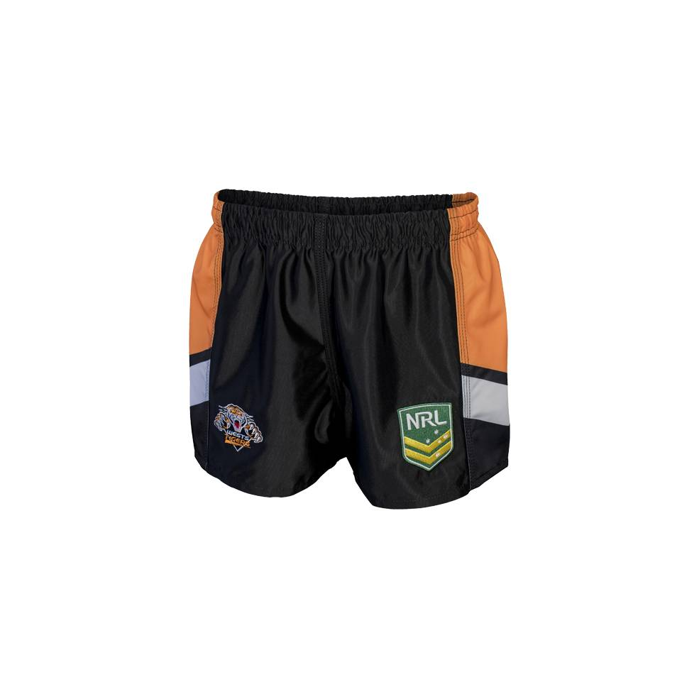 WESTS TIGERS HOME NRL YOUTH SUPPORTER SHORTS0