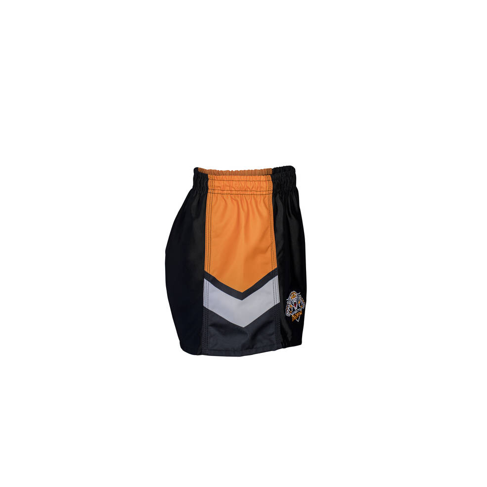 WESTS TIGERS HOME NRL YOUTH SUPPORTER SHORTS2