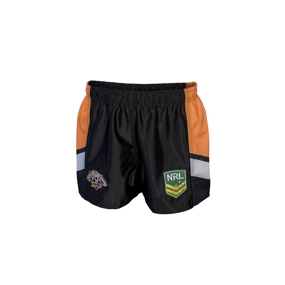 WESTS TIGERS HOME NRL YOUTH SUPPORTER SHORTS3