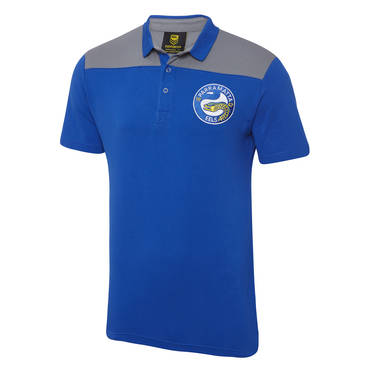 PARRAMATTA EELS MENS KNITTED POLO