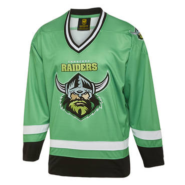 CANBERRA RAIDERS MENS HOCKEY JERSEY