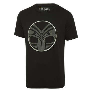 NEW ZEALAND WARRIORS MENS REFLECTIVE LOGO TEE