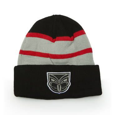 NEW ZEALAND WARRIORS MENS BEANIE