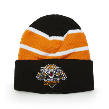 WESTS TIGERS LADIES BEANIE