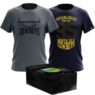 COWBOYS MENS TWIN TEE PACK TIN
