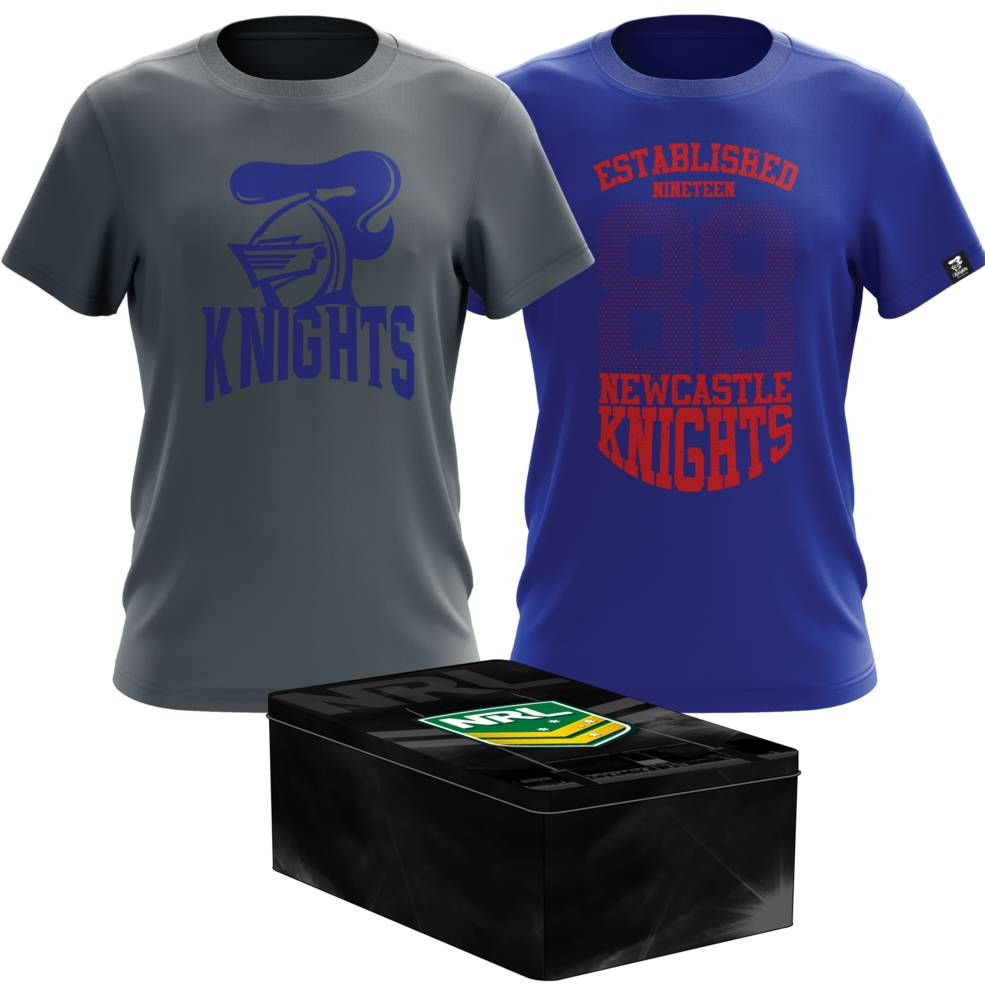 NEWCASTLE KNIGHT MENS TWIN TEE PACK TIN0