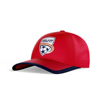 ADELAIDE UNITED CLUB PERFORATED STRETCH TRAINING CAP