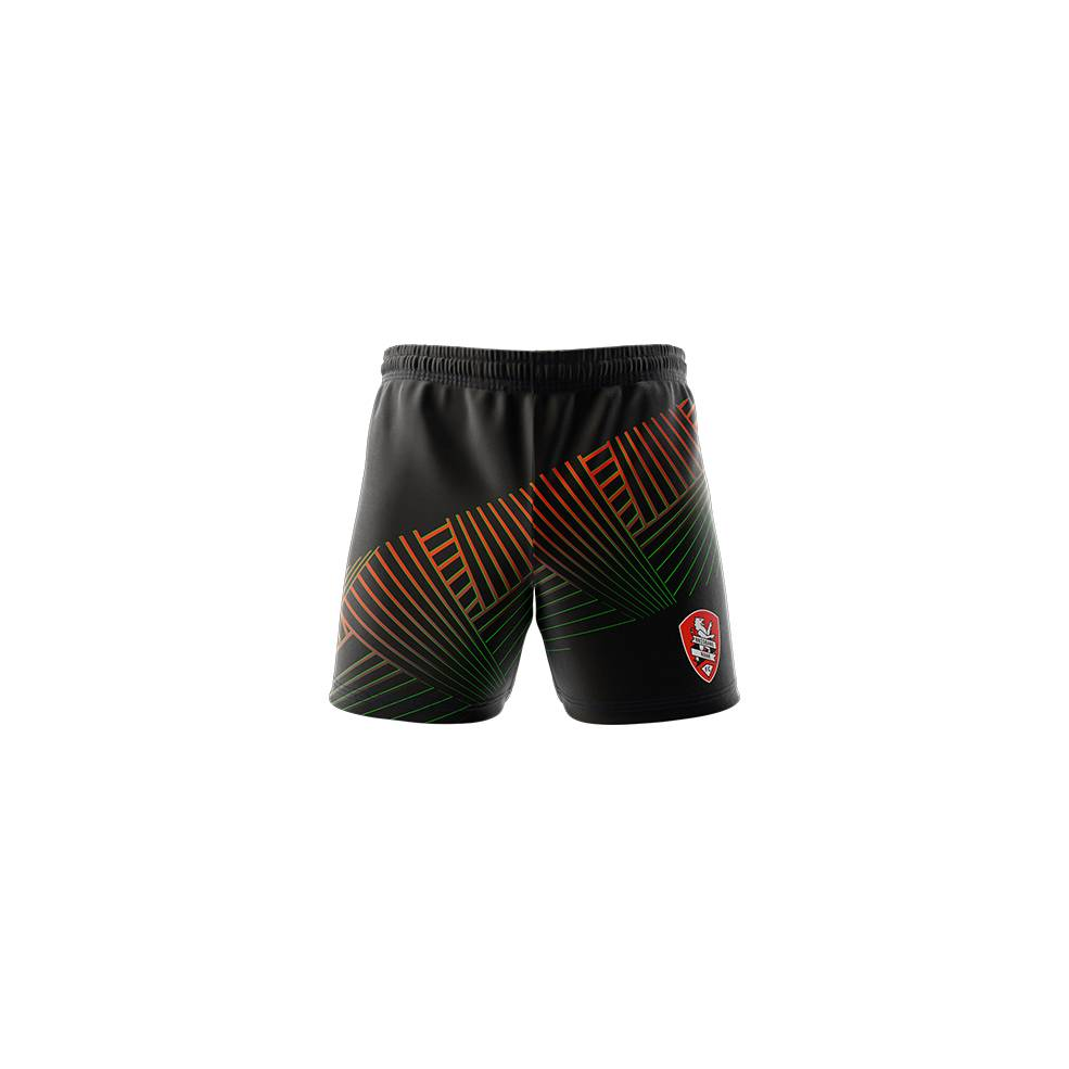 BRISBANE ROAR MENS GEO SQUAD TRAINING  SHORTS0