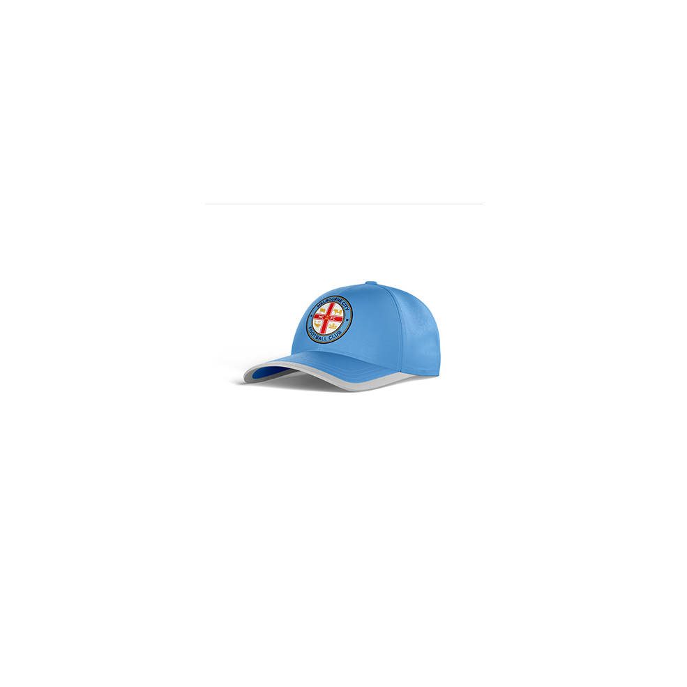 MELBOURNE CITY CLUB PERFORATED STRETCH TRAINING CAP0