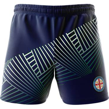 MELBOURNE CITY MENS GEO SQUAD TRAINING  SHORTS