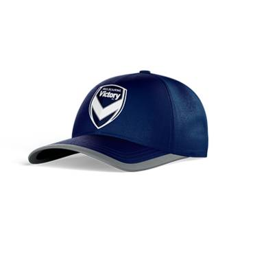 MELBOURNE VICTORY CLUB PERFORATED STRETCH TRAINING CAP