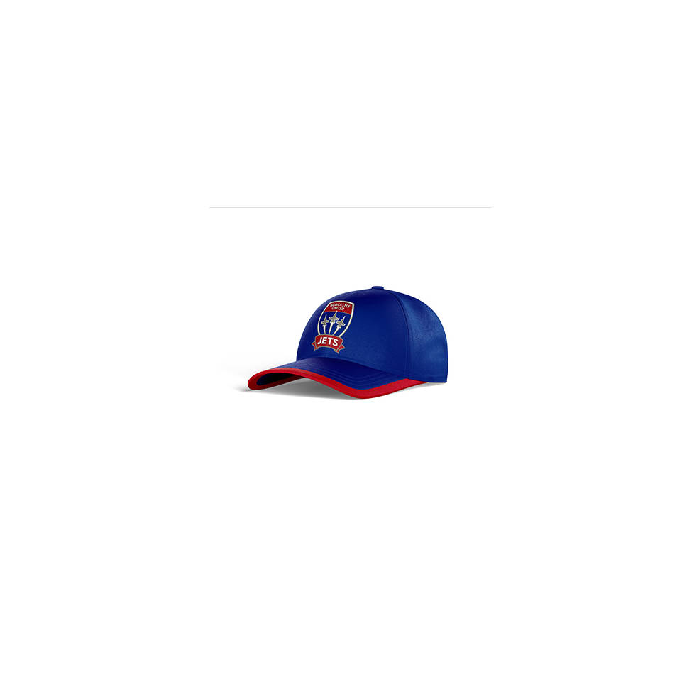 NEWCASTLE JETS CLUB PERFORATED STRETCH TRAINING CAP0