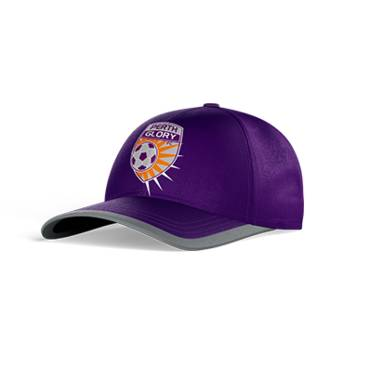 PERTH GLORY CLUB PERFORATED STRETCH TRAINING CAP