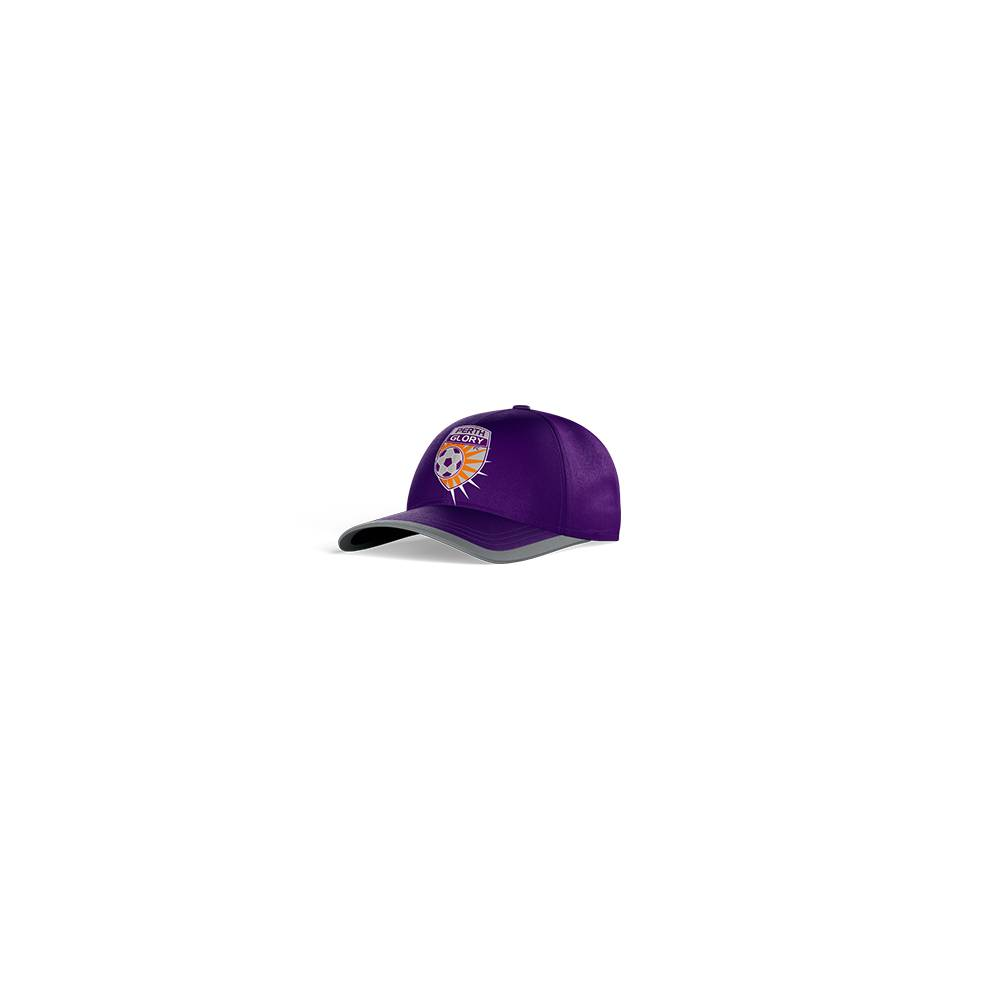 PERTH GLORY CLUB PERFORATED STRETCH TRAINING CAP0