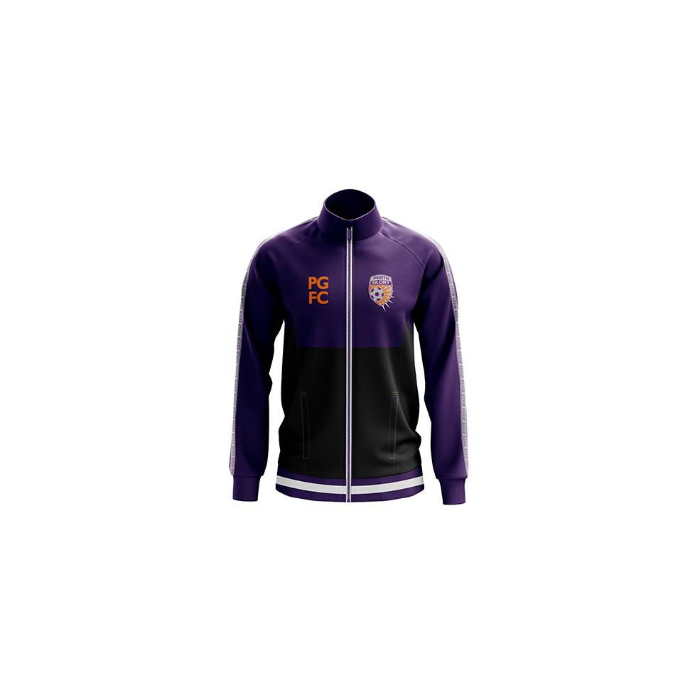 PERTH GLORY MENS ACADEMY TRACK JACKET0