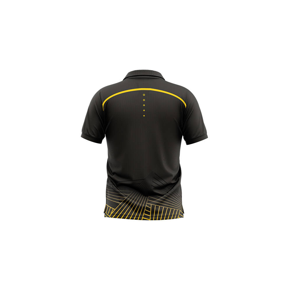 WELLINGTON PHOENIX MENS GEO STRIKE POLO1