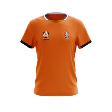 BRISBANE ROAR MENS GEO SQUAD TRAINING TEE